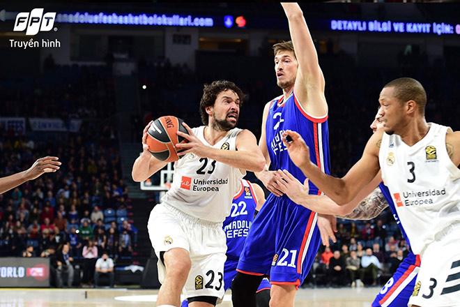 Vòng Playoffs Giải Bóng rổ Vô địch châu Âu 2021 EuroLeague Playoffs - Phân tranh chưa ngã ngũ - 1