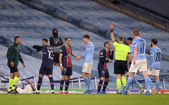 PSG thua Man City mang tiếng: Cay cú bỏ bóng đá người, đáng phải ăn 4 thẻ đỏ - 2