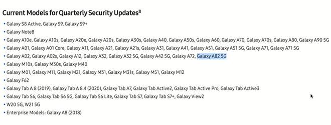 """Galaxy A82 5G giá """"ngon"""" đã sẵn sàng được công bố: chip khỏe, màn hình lớn - 3"""
