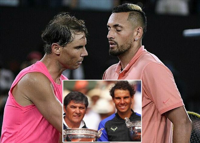 """""""Trai hư"""" Kyrgios công kích Nadal, ông chú Toni vẫn ca ngợi - 1"""
