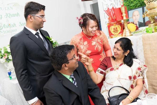 Cô dâu Việt chia sẻ tin nhắn bất ngờ của bố mẹ chồng Ấn Độ giữa đại dịch COVID-19 - 1