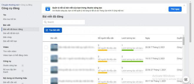 Hướng dẫn cách hẹn giờ đăng bài tự động trên Fanpage Facebook - 1