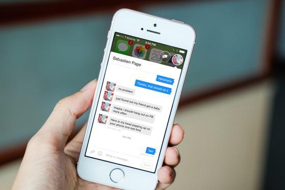 Cách bật bong bóng chat Messenger trên iPhone - 1