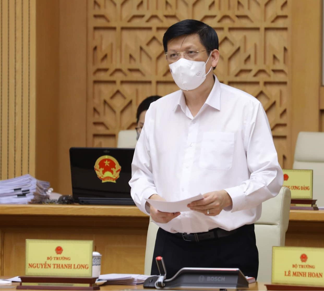 Bộ trưởng Y tế nói gì về việc lây nhiễm COVID-19 tại BV Bệnh Nhiệt đới TW cơ sở 2? - 1