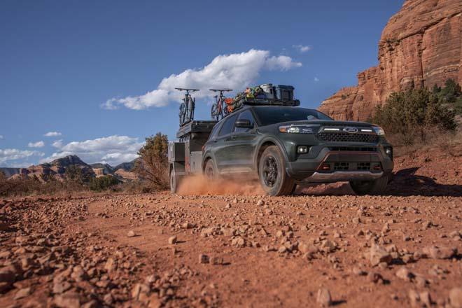 """Ford Explorer Timberline 2021 ra mắt, SUV 7 chỗ """"cân"""" mọi địa hình - 11"""