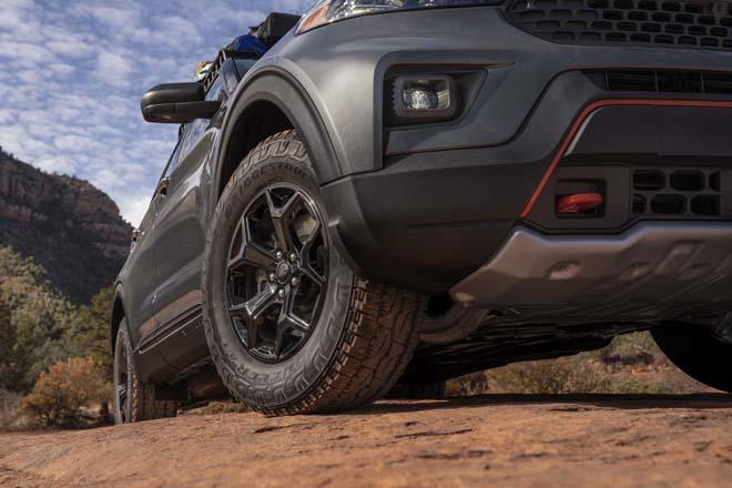"""Ford Explorer Timberline 2021 ra mắt, SUV 7 chỗ """"cân"""" mọi địa hình - 7"""