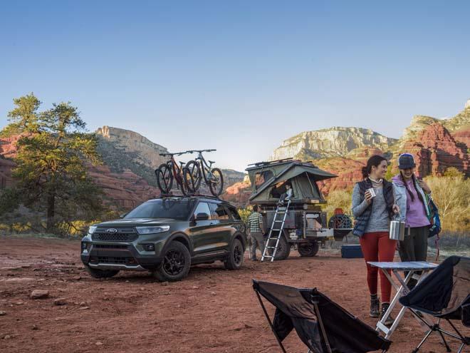 """Ford Explorer Timberline 2021 ra mắt, SUV 7 chỗ """"cân"""" mọi địa hình - 10"""