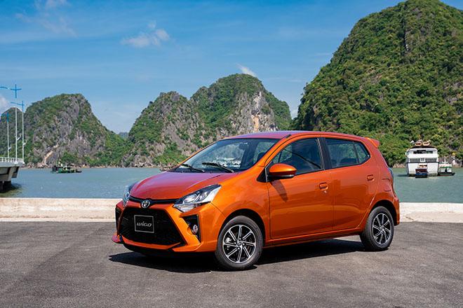 Giá xe Toyota Wigo lăn bánh tháng 5/2021 - 1