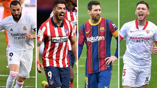 Rực lửa vòng 35 La Liga: Barca - Atletico, Real - Sevilla đua vô địch nóng nhất mùa bóng - 1