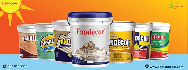Sơn chống nóng E99 Fandecor - Bước đột phá trong công nghệ sơn - 1