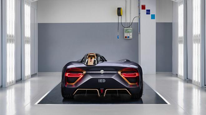 Suzuki ra mắt xe ý tưởng sử dụng động cơ điện hiệu suất cao - 5