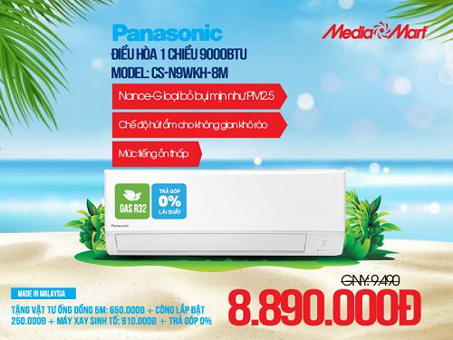 Top 5 điều hòa lọc không khí Panasonic đáng mua nhất - 1