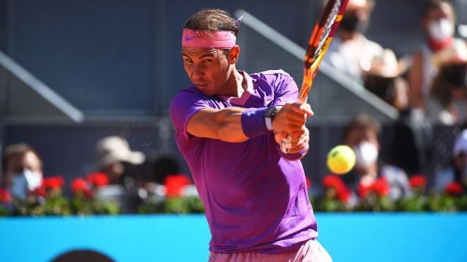 """Video tennis Nadal - Popyrin: Chọc giận """"Bò tót"""", kết cục đắng ngắt (vòng 3 Madrid Open) - 1"""