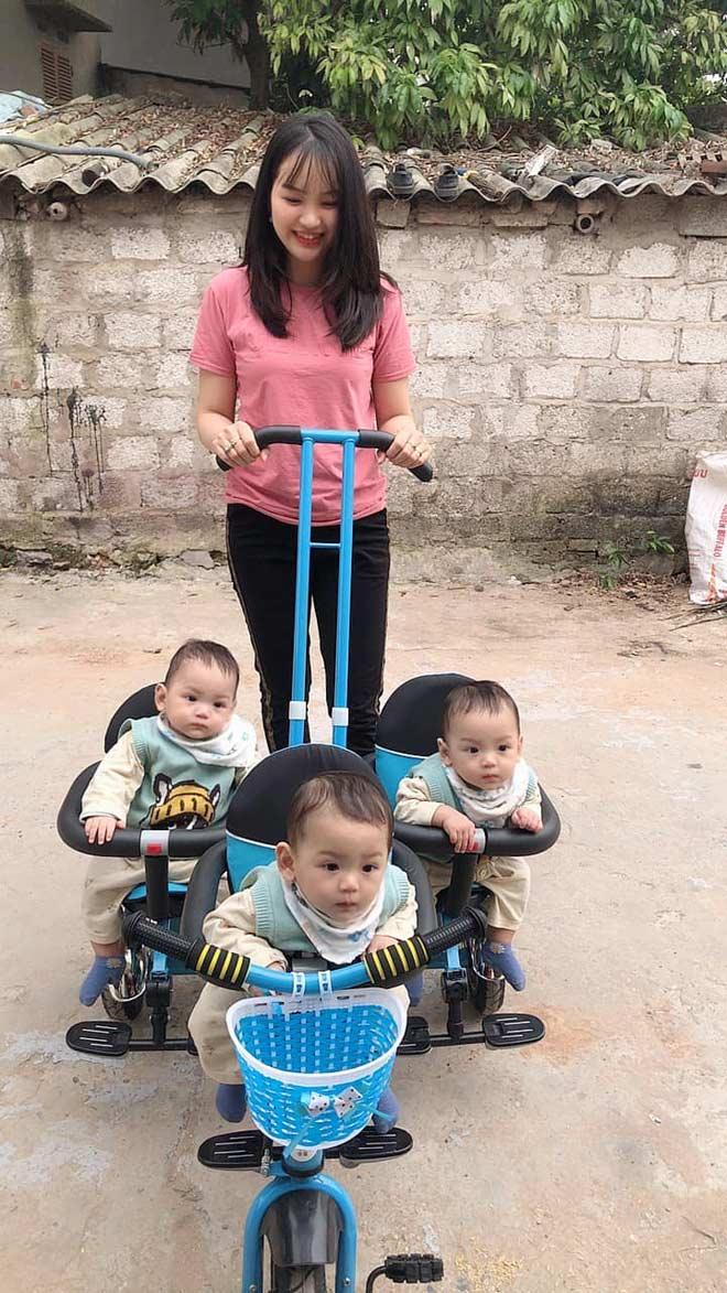 """Cuộc sống """"chóng mặt"""" của bà mẹ Hà Nam mang thai hiếm """"8 nghìn ca có một"""" - 1"""