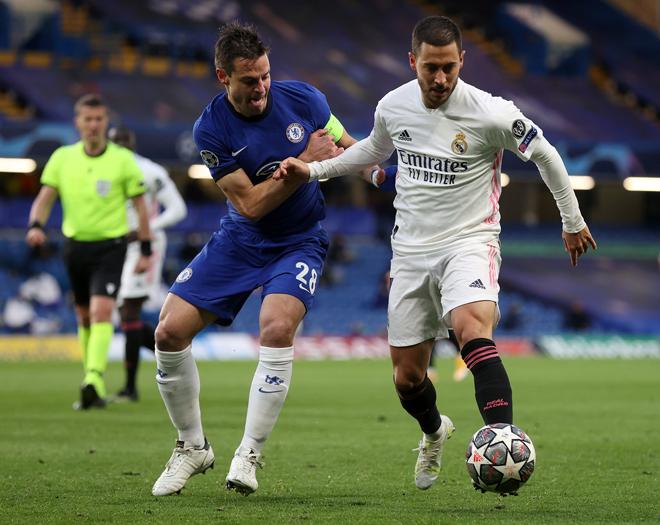 Kết quả Cúp C1 Chelsea - Real Madrid: Đỉnh cao chiến thuật, đòn kết liễu phút 85 - 1