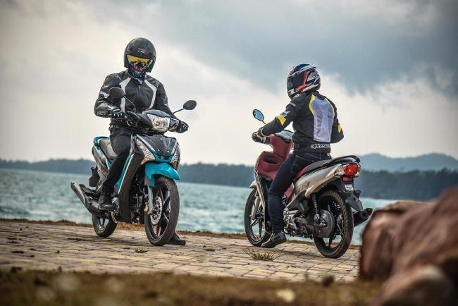 Yamaha FINN 115i, một xe số mới nổi và đang hút khách tại thị trường Thái Lan.