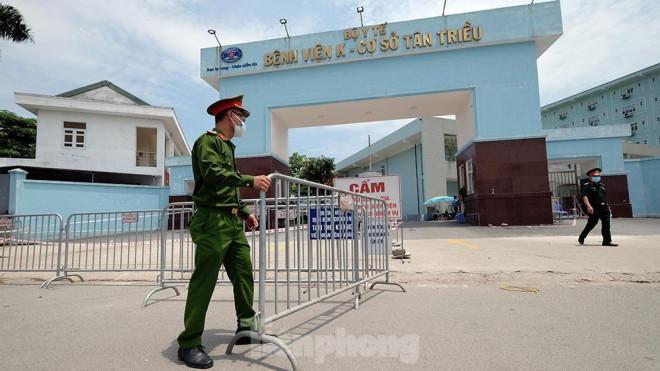 Khử khuẩn toàn bộ Bệnh viện K Tân Triều - 1
