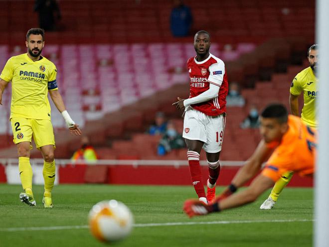 Kết quả bóng đá Europa League, Arsenal - Villarreal:Vận may ngoảnh mặt, cay đắng cột dọc - 1
