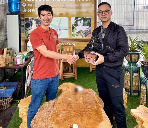 Nghệ nhân Hoàng Đình Hiếu mãn nhãn với mô hình trồng hoa lan - 1