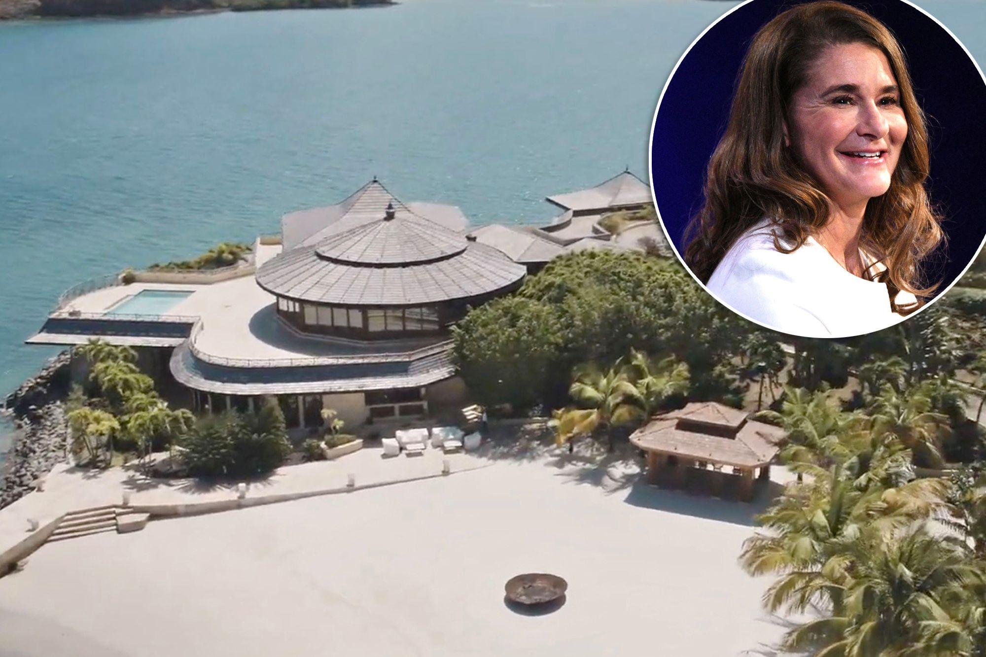 Vợ thuê nguyên hòn đảo tránh truyền thông, riêng Bill Gates không được mời - 1