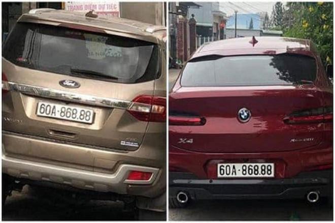 CSGT nói về 2 xe ô tô trùng biển số 60A-868.88 ở Đồng Nai - 1