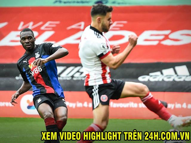 """Video Sheffield United - Crystal Palace: 2 phút choáng váng, """"độc diễn"""" cực đỉnh"""