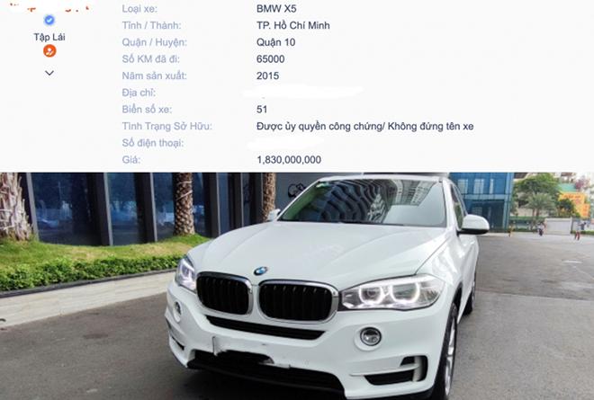 BMW X5 động cơ dầu đời 2015 chào bán hơn 1,8 tỷ đồng - 3