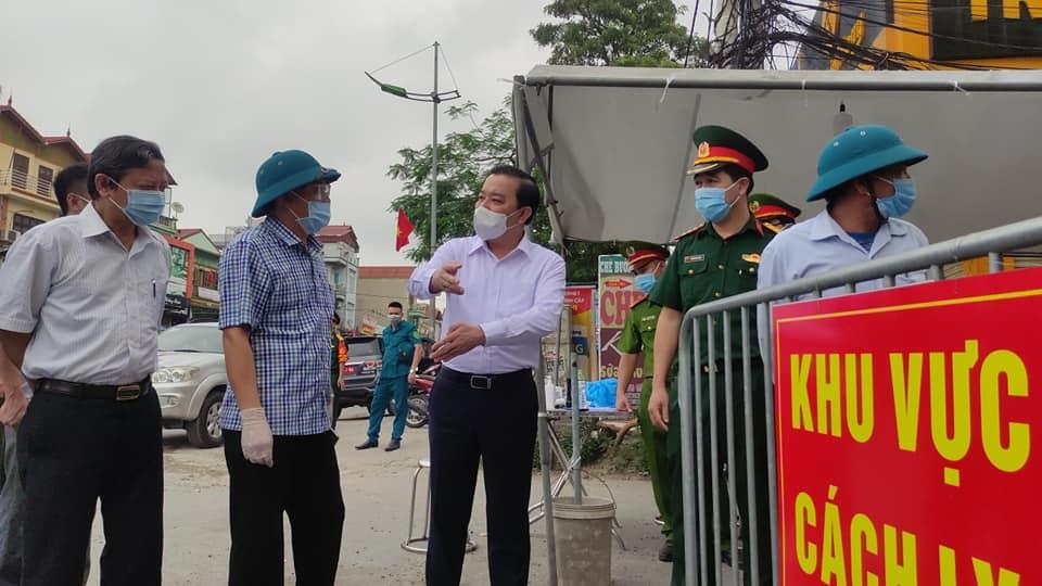 Huyện Thường Tín yêu cầu công an xử lý bệnh nhân 3092 vì không khai báo làm lây lan COVID-19 - 1