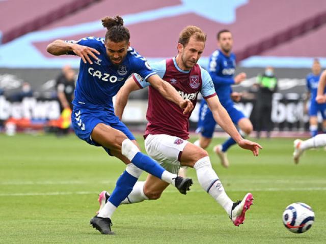 Trực tiếp bóng đá West Ham - Everton: Siêu dự bị kém may cuối trận (Hết giờ)