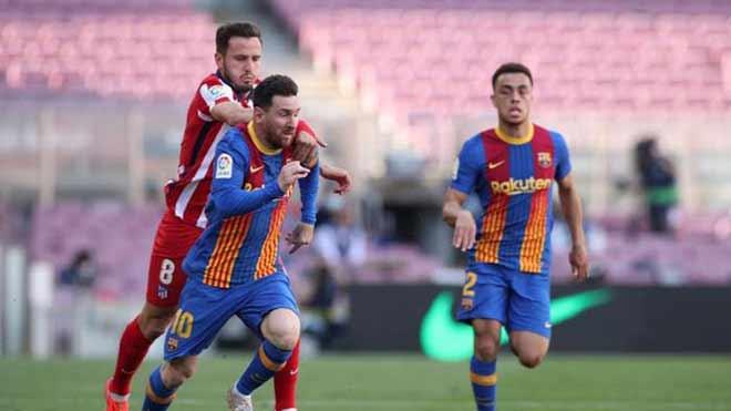 Barca hòa Atletico: Báo TBN lo hết cửa vô địch, tiếc vì Messi hụt siêu phẩm - 1