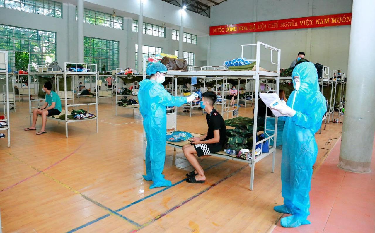 Vĩnh Phúc cách ly xã hội toàn thị trấn của huyện Yên Lạc - 1