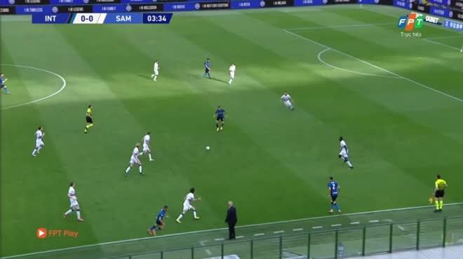 Video Inter Milan - Sampdoria: Tân vương mở đại tiệc, Sanchez lập cú đúp