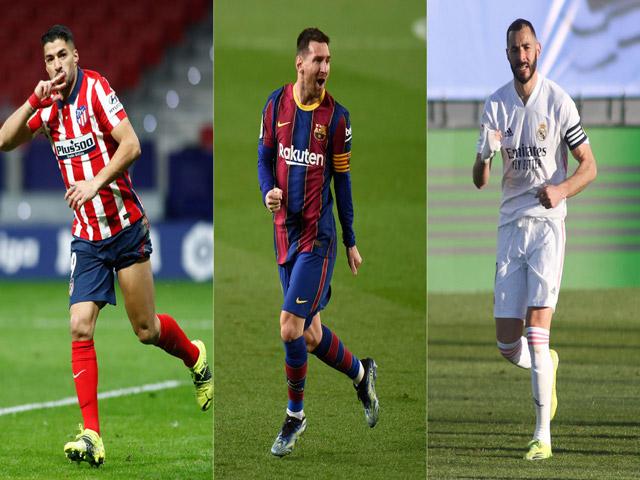 """La Liga còn 3 vòng hạ màn, kịch bản """"điên rồ"""" mùa 2013/14 dễ lặp lại"""