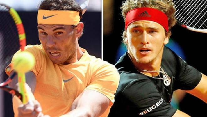 """Bảng xếp hạng tennis 10/5: Zverev thăng hoa, Nadal nhận """"đòn đau"""" - 1"""