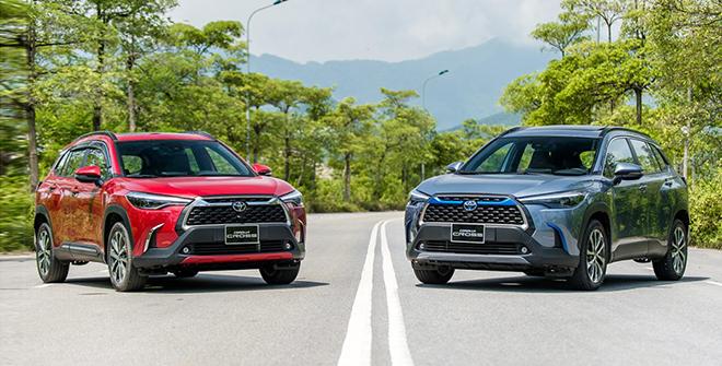 Giá xe Toyota Corolla Cross lăn bánh tháng 5/2021 - 1