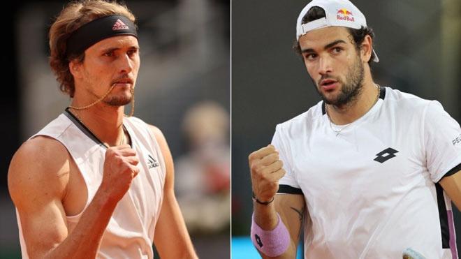 Video tennis Zverev - Berrettini: Ngược dòng đỉnh cao, vinh quang chói lọi (Chung kết Madrid Open) - 1