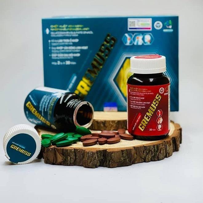 Viên khớp Vẹm xanh GreMuss - Hội tụ tinh hoa từ nhiều hoạt chất - 1