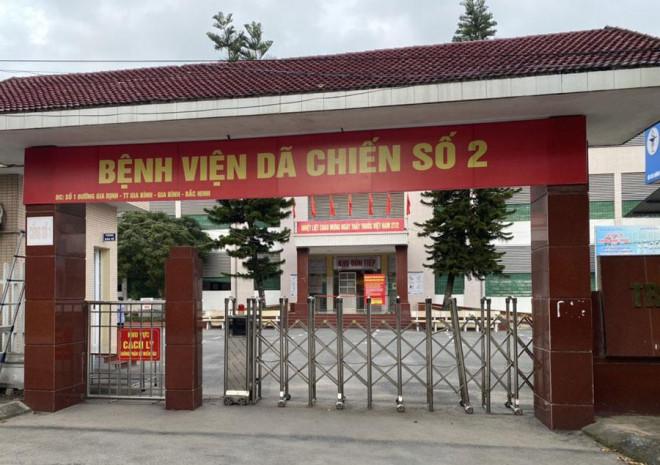 Hơn 100 ca mắc COVID-19, Bắc Ninh chốt vận hành 2 bệnh viện dã chiến 600 giường - 1