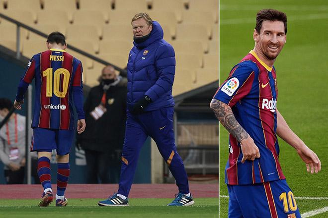 """Messi mâu thuẫn với HLV Koeman: Sếp lớn tính sa thải, """"Pep mới"""" thay thế - 1"""