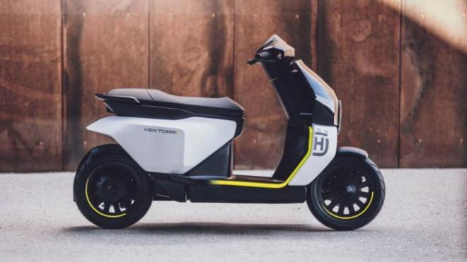 Xe máy điện Thụy Điển ra mắt với thiết kế đầy phong cách - 1