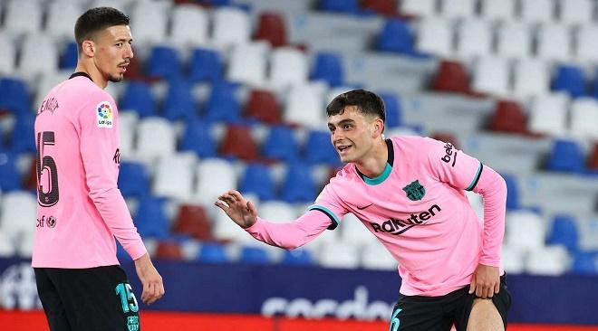 Trực tiếp bóng đá Levante - Barcelona: Chủ nhà ghi bàn thắng thứ 3 (Hết giờ) - 15