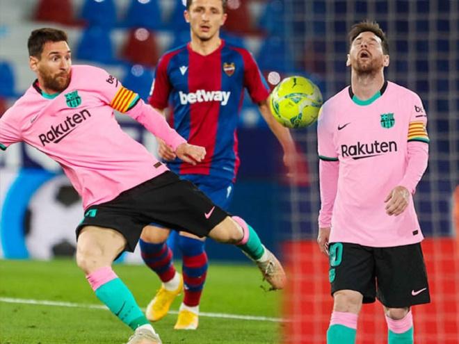 """Messi lập siêu phẩm vẫn chịu tiếng """"tội đồ"""" khiến Barca rơi chiến thắng - 1"""