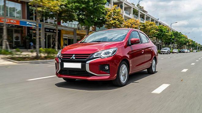 Mitsubishi Attrage lần thứ 2 lọt vào top 10 xe bán chạy nhất trong tháng - 1