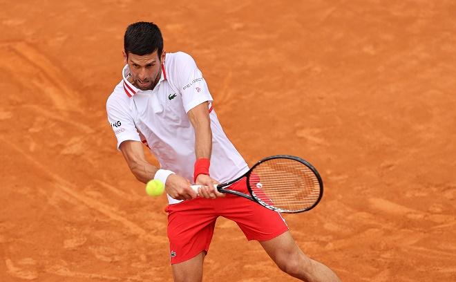 Video tennis Djokovic - Fritz: Cơn mưa gián đoạn, bản lĩnh tie-break (Vòng 2 Rome Masters) - 1