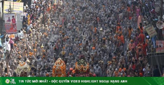 Rất nhiều ca nhiễm Covid-19 trên khắp Ấn Độ bắt nguồn từ lễ hội siêu lây nhiễm