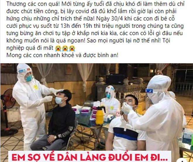 Nam sinh đi bê cỗ bị nhiễm Covid, MC Thảo Vân nói điều bất ngờ - 1