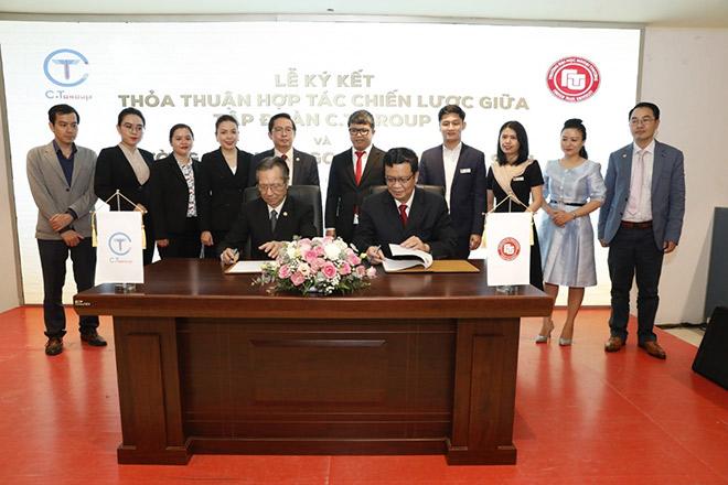 Tập đoàn C.T Group hợp tác toàn diện với trường Đại học Ngoại thương cơ sở II tại TP. HCM - 1