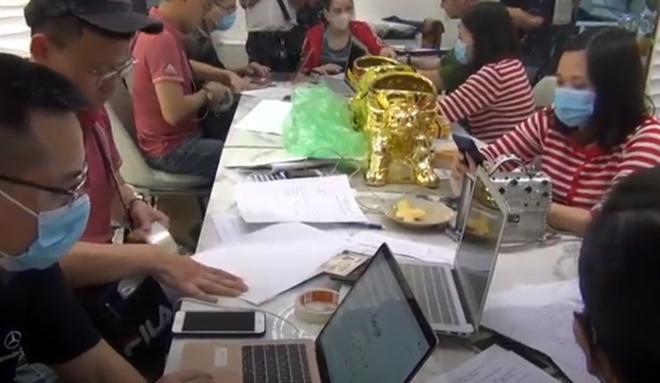 """Công an Hà Nội triệt phá 4 sàn giao dịch vàng, tiền ảo """"khủng"""" - 1"""