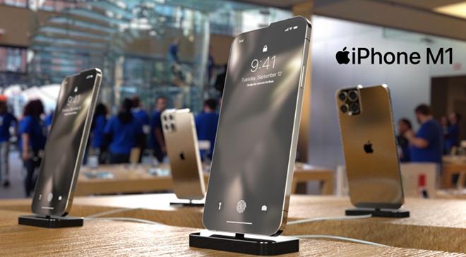 Chiêm ngưỡng ý tưởng iPhone 13 mới lạ nhất hiện nay - 1