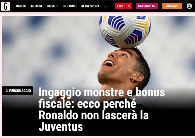 """Báo Italia tin Ronaldo """"cãi"""" mẹ, không rời Juventus vì 2 """"ma lực"""" này - 1"""
